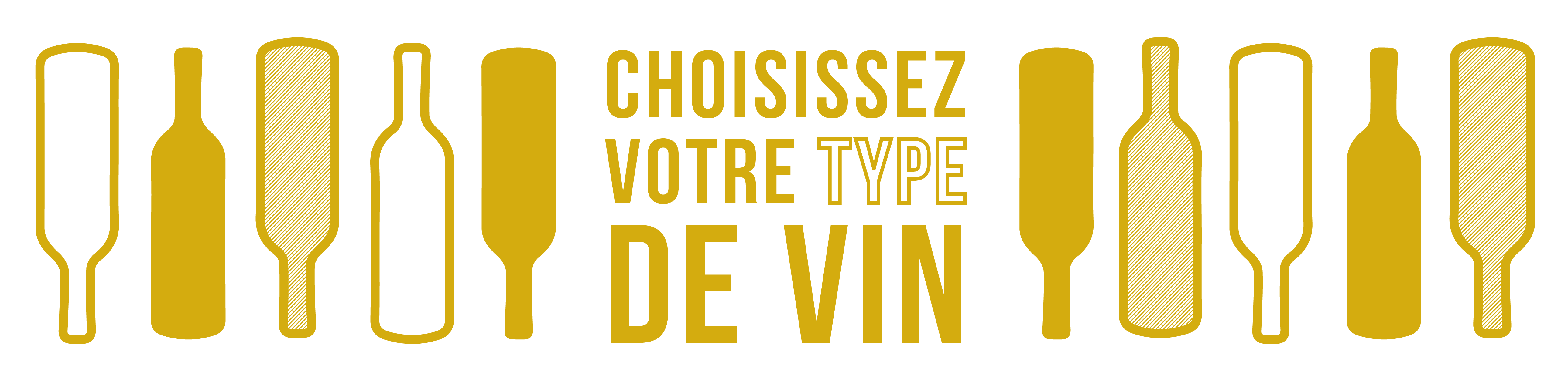 Créez un coffret selon le type, la couleur et la région des vins
