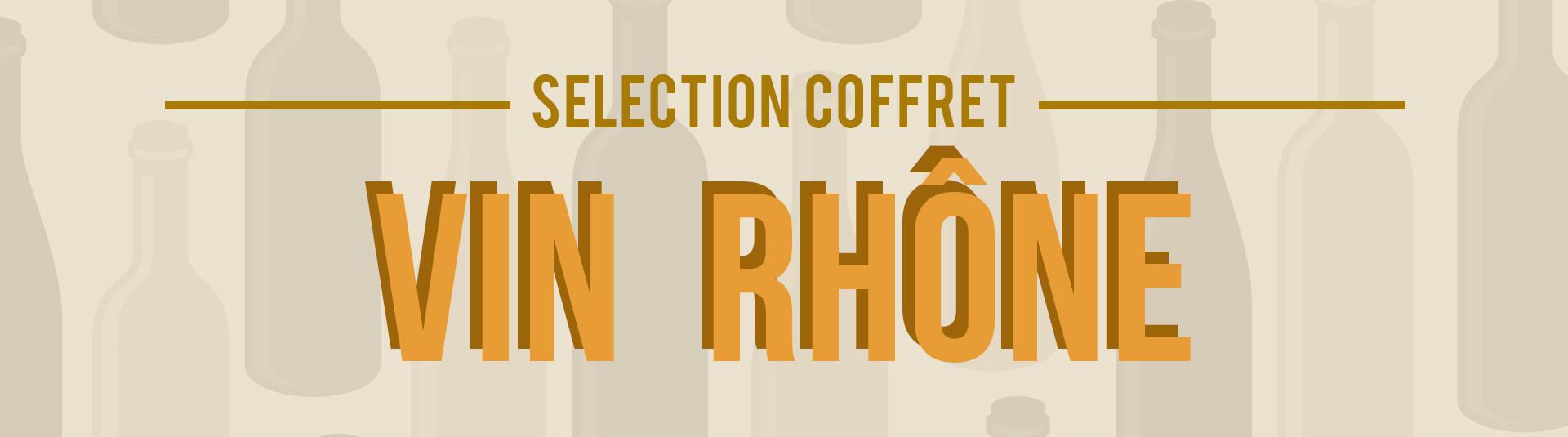 Coffret vin Rhône