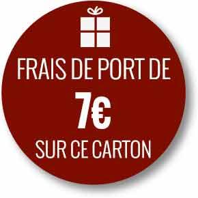 Frais de port 7 euros