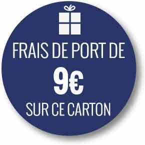 Frais de port 9 euros