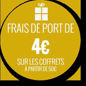 Frais de port 4 euros jusqu'au 14 février