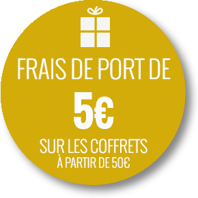 Frais de port 5 euros jusqu'au 14 février