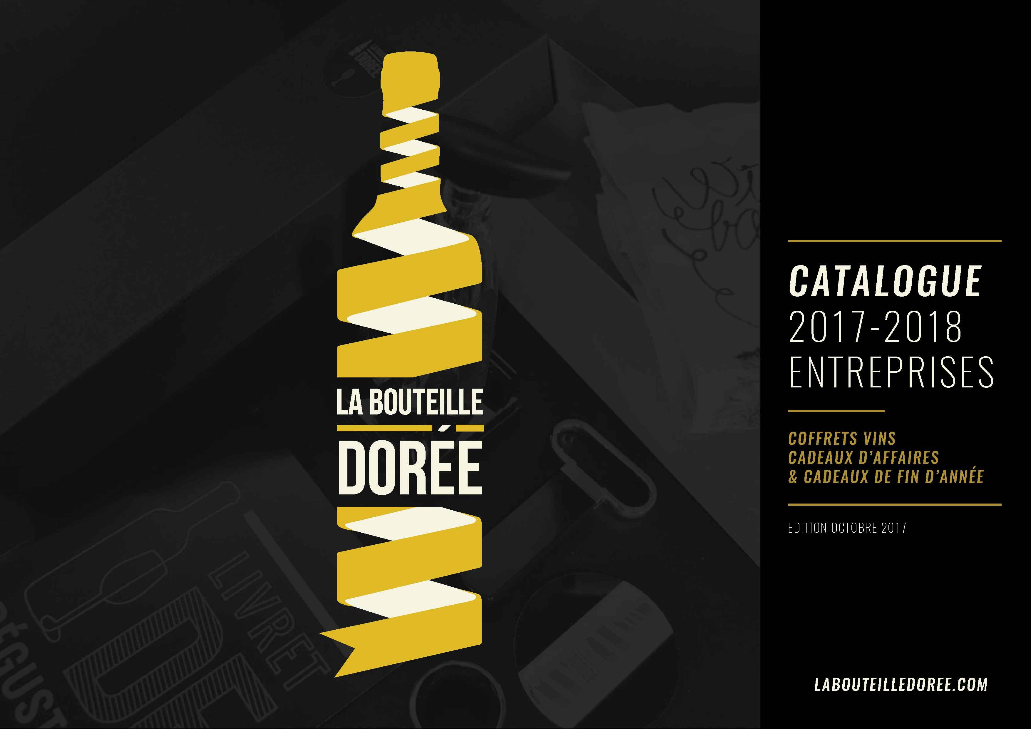 Téléchargez le catalogue de coffret vins La Bouteille Dorée